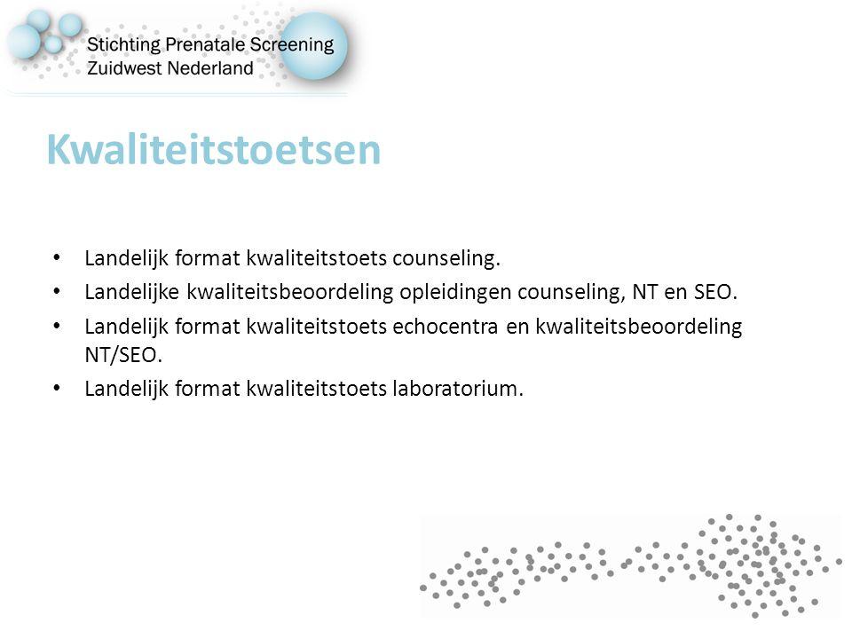 Kwaliteitstoetsen Landelijk format kwaliteitstoets counseling.