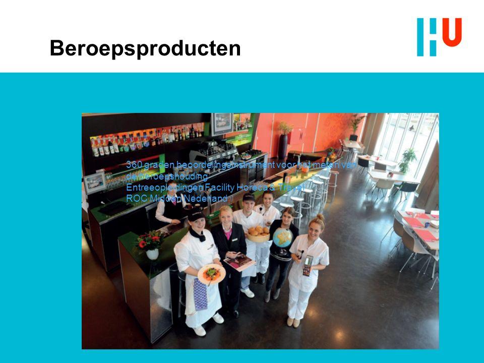 Beroepsproducten 360 graden beoordelingsinstrument voor het meten van de beroepshouding Entreeopleidingen Facility Horeca & Travel ROC Midden Nederland