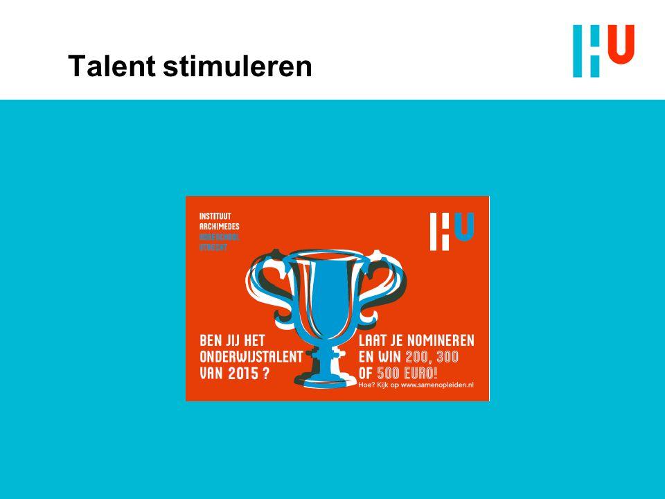 Talent stimuleren