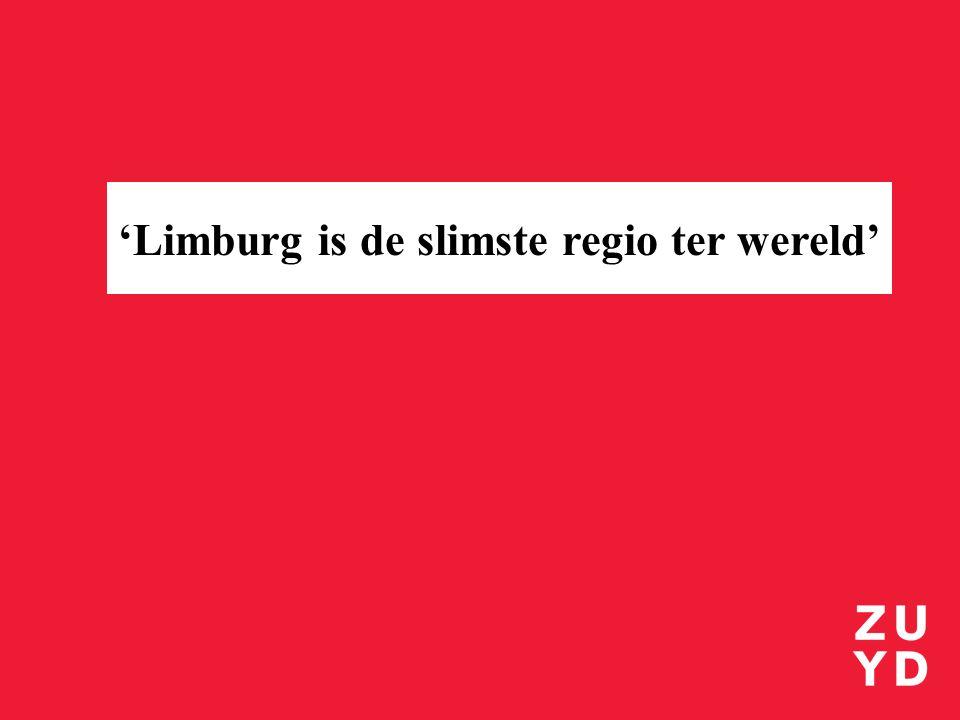 2025 'Limburg is de slimste regio ter wereld'