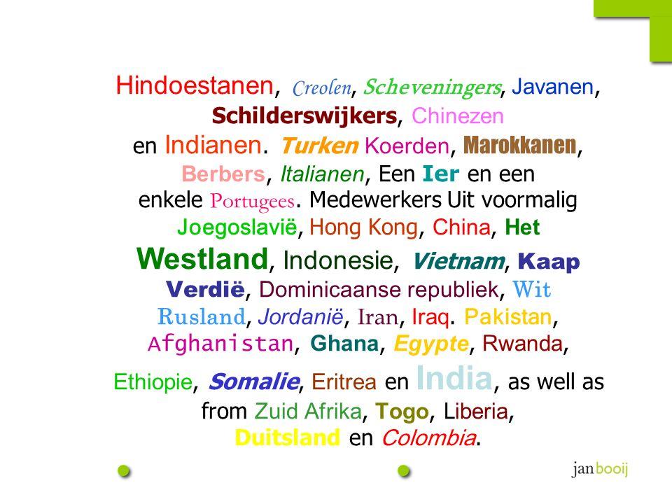 Door invloeden vanuit de wereld is de spanwijdte van de diversiteit groter geworden,...