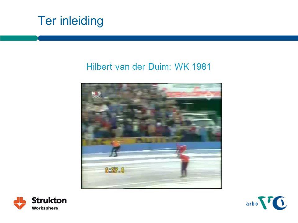 Ter inleiding Hilbert van der Duim: WK 1981