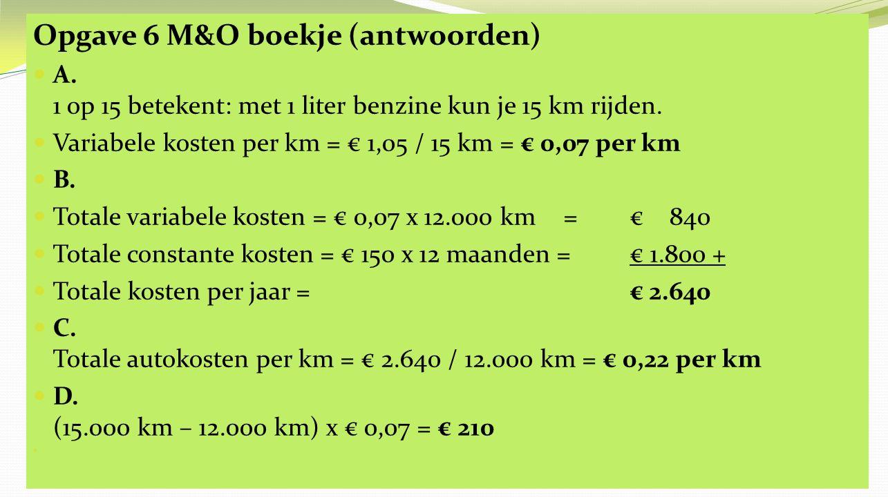 Opgave 6 M&O boekje (antwoorden) E.