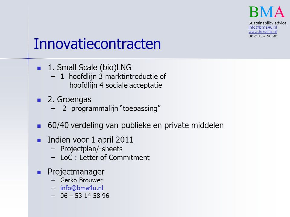 Innovatiecontracten 1.