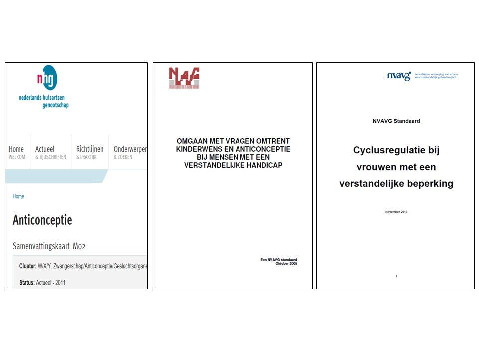 Pergamijn (234) S Heerenloo/ Cello (300)Normale begaafde vrouwen Anticonceptie LVG/MVG EVG/ZEVG 48%50% 31% 64% 70% (incl.
