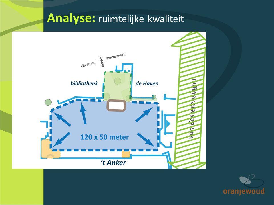 Analyse: ruimtelijke kwaliteit