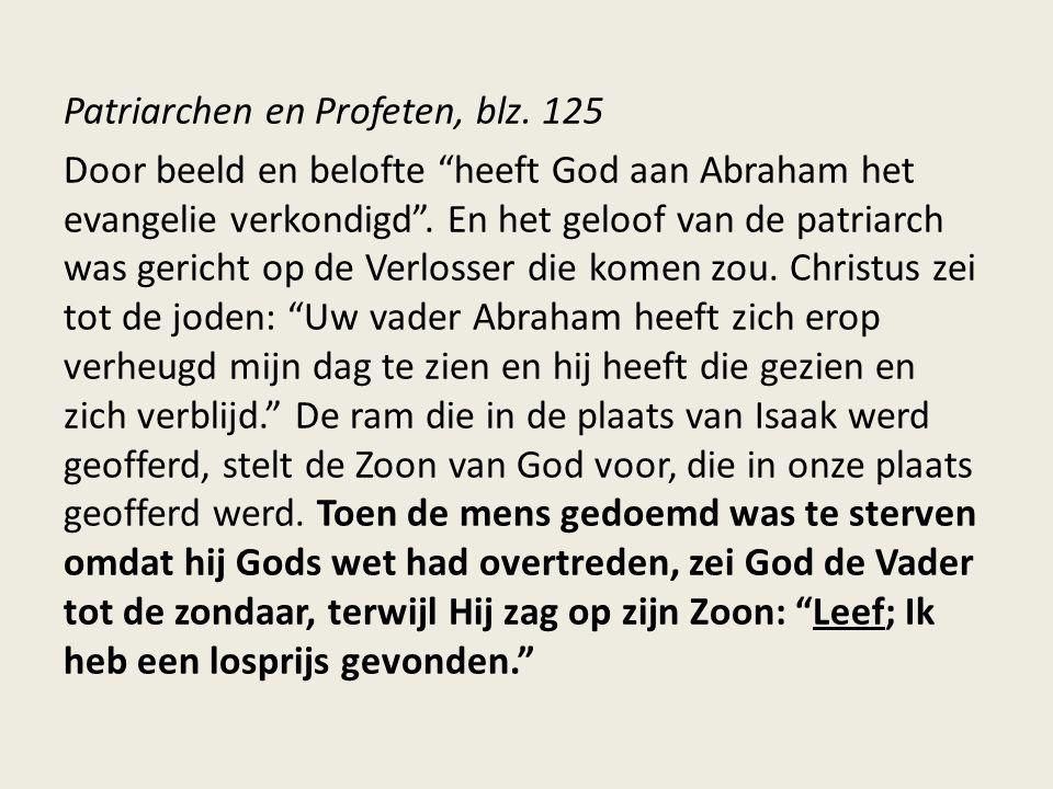 Patriarchen en Profeten, blz.