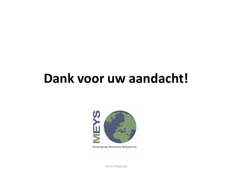 Dank voor uw aandacht! www.meys.eu