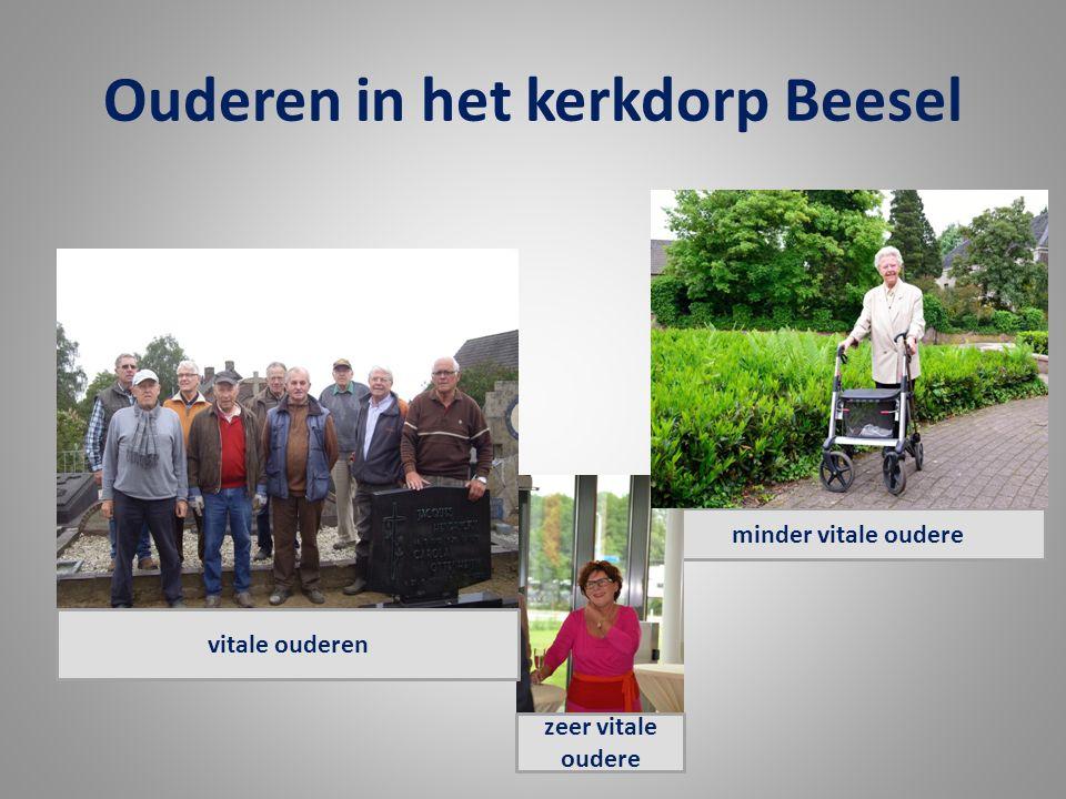 Ouderen in het kerkdorp Beesel minder vitale oudere zeer vitale oudere vitale ouderen