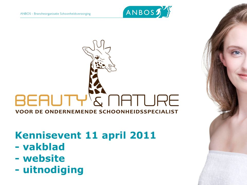 2 Kennisevent 11 april 2011 - vakblad - website - uitnodiging