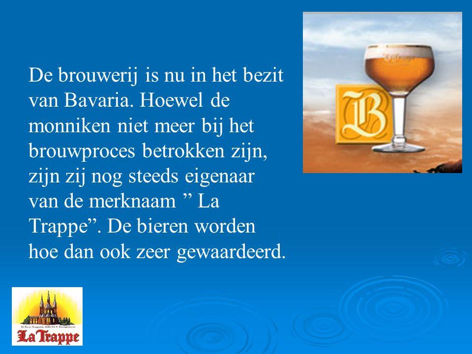 De brouwerij is nu in het bezit van Bavaria.