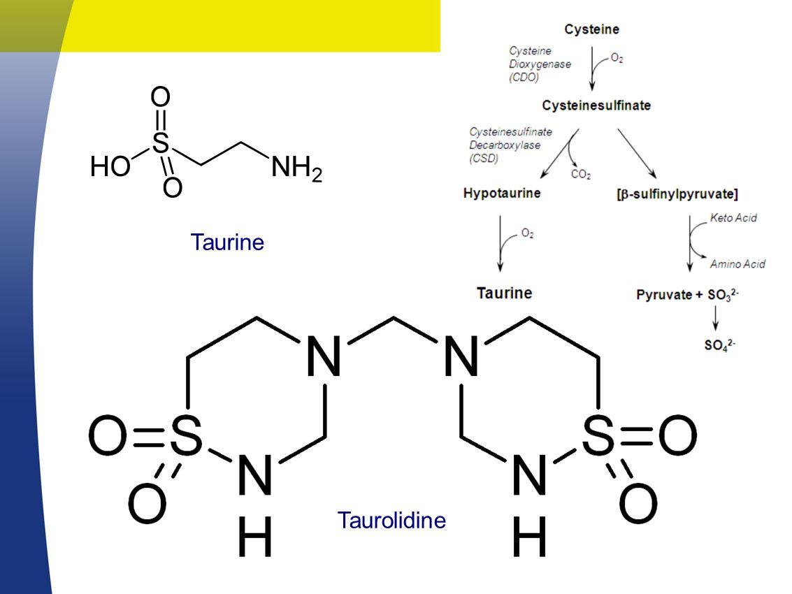 Taurine Taurolidine