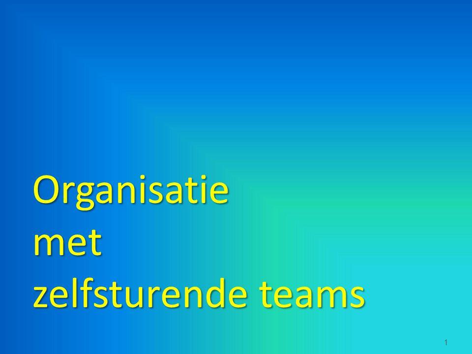 Organisatiemet zelfsturende teams  1