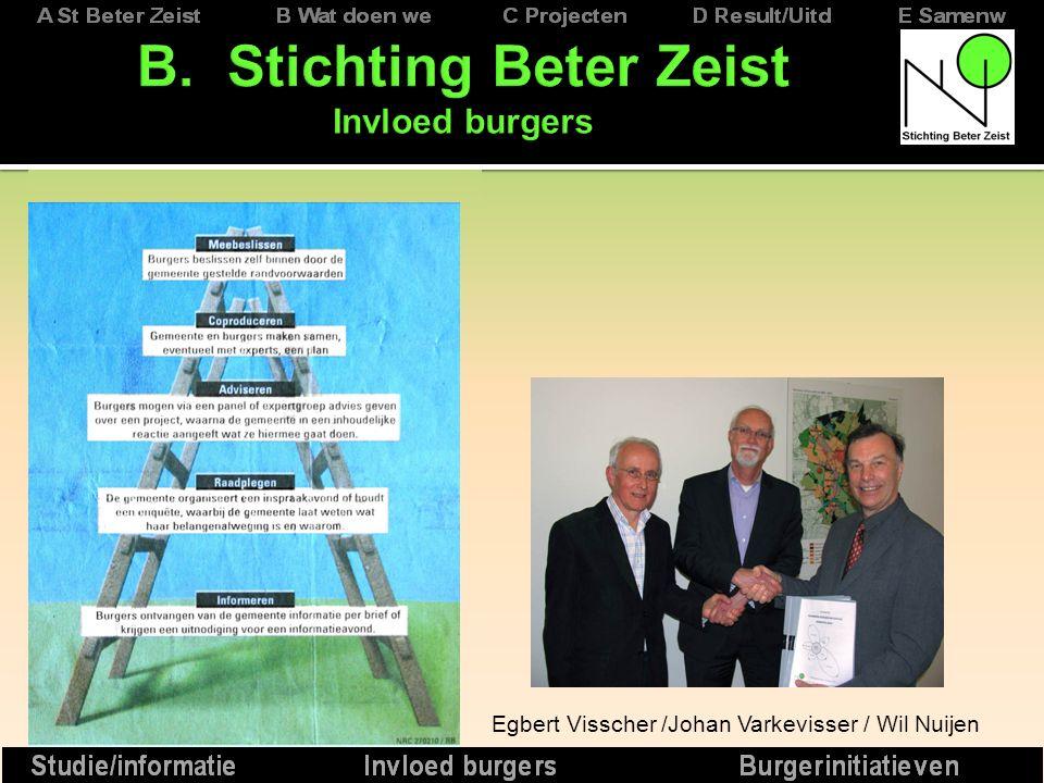 Egbert Visscher /Johan Varkevisser / Wil Nuijen