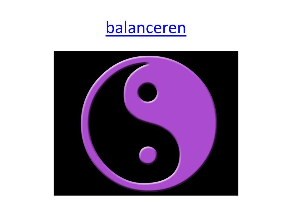 balanceren