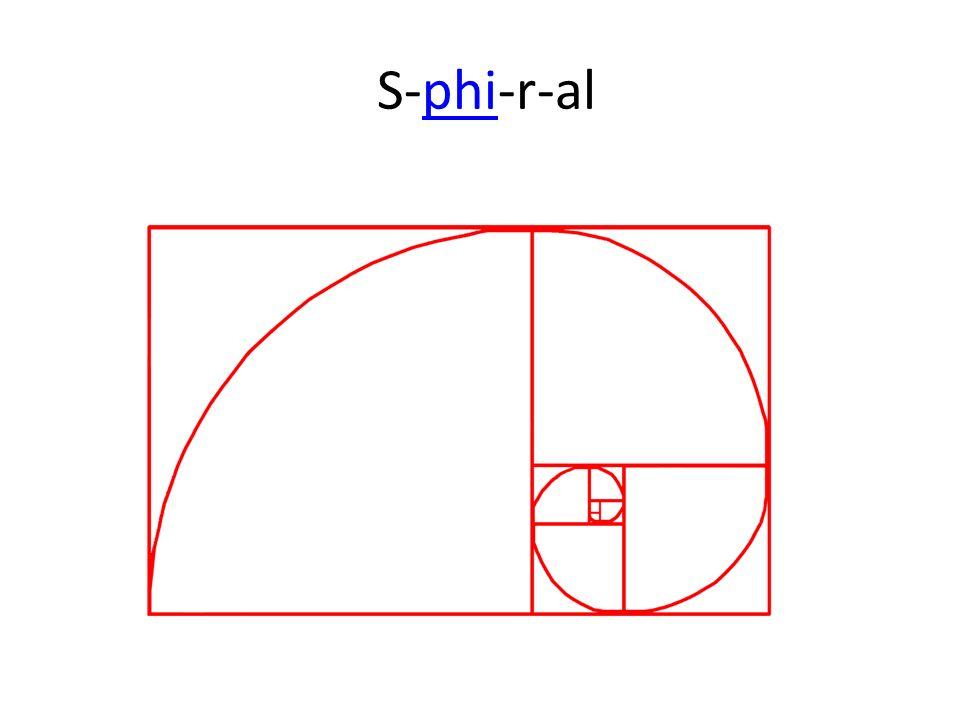 S-phi-r-alphi