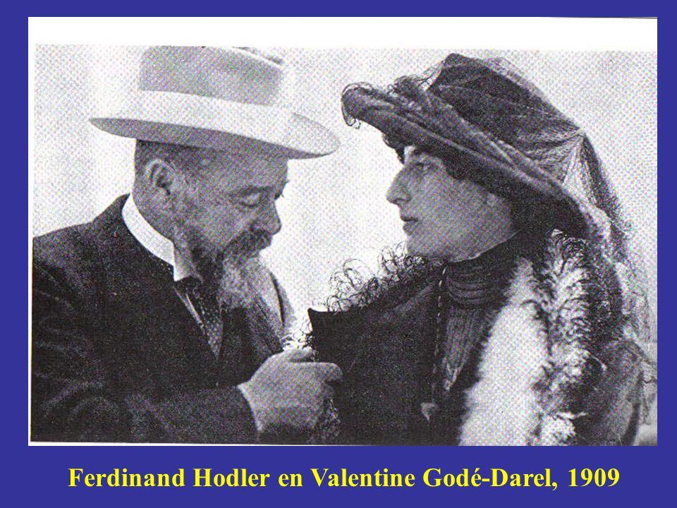 Ferdinand Hodler en Valentine Godé-Darel, 1909