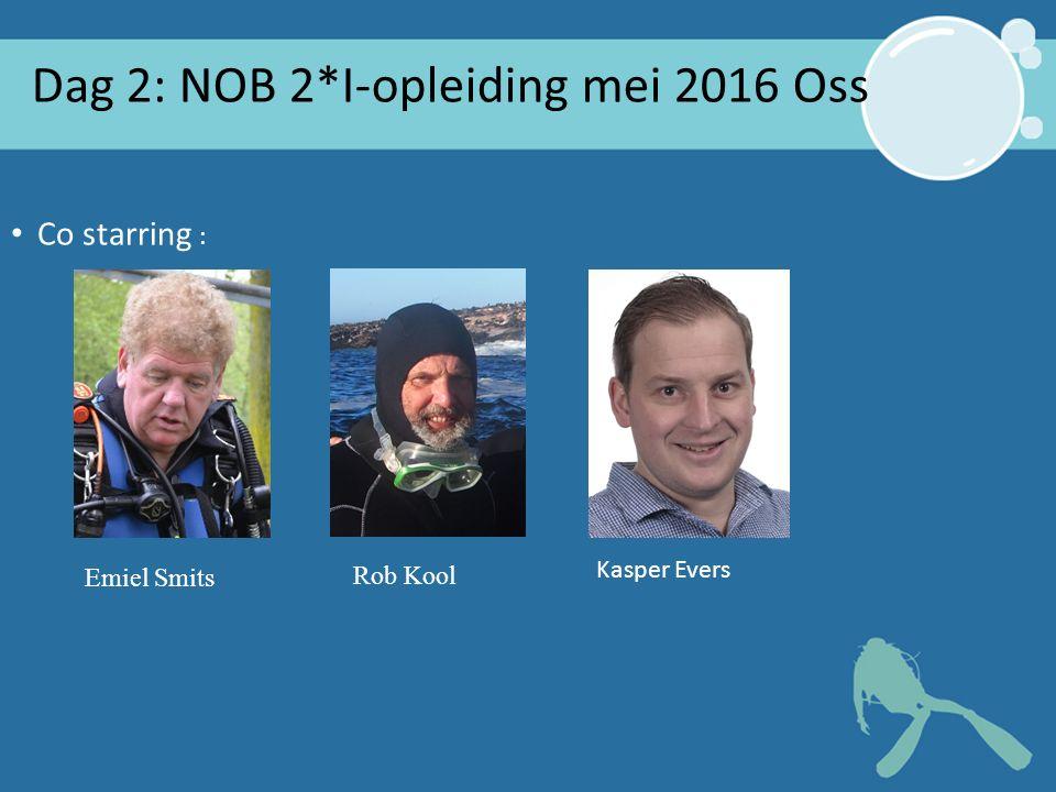2* Instructeur Oss 2016 2 Dag 2: NOB 2*I-opleiding mei 2016 Oss Co starring : Emiel Smits Rob Kool Kasper Evers