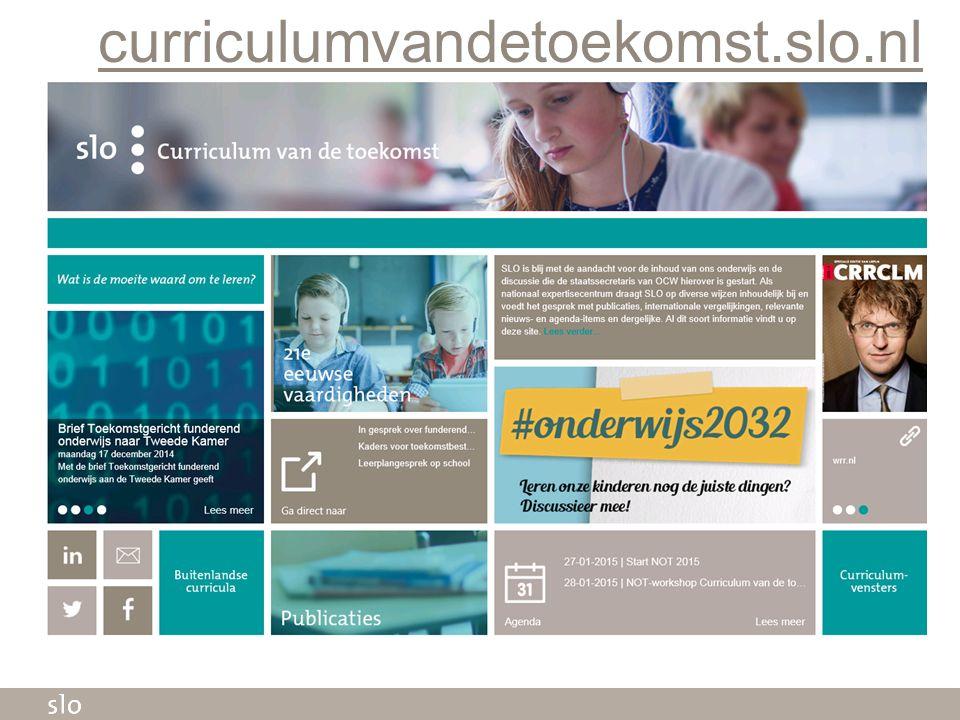 curriculumvandetoekomst.slo.nl