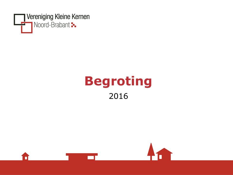 Begroting 2016
