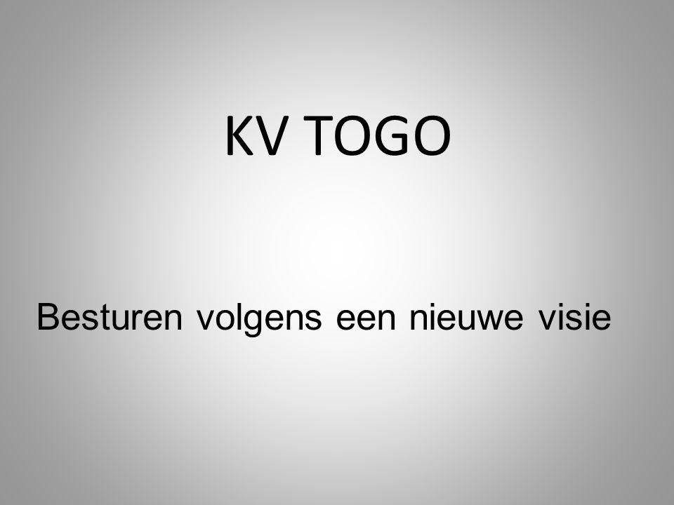 KV TOGO Besturen volgens een nieuwe visie