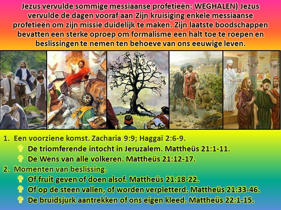 Verheug u zeer, dochter van Sion.Juich, dochter van Jeruzalem.