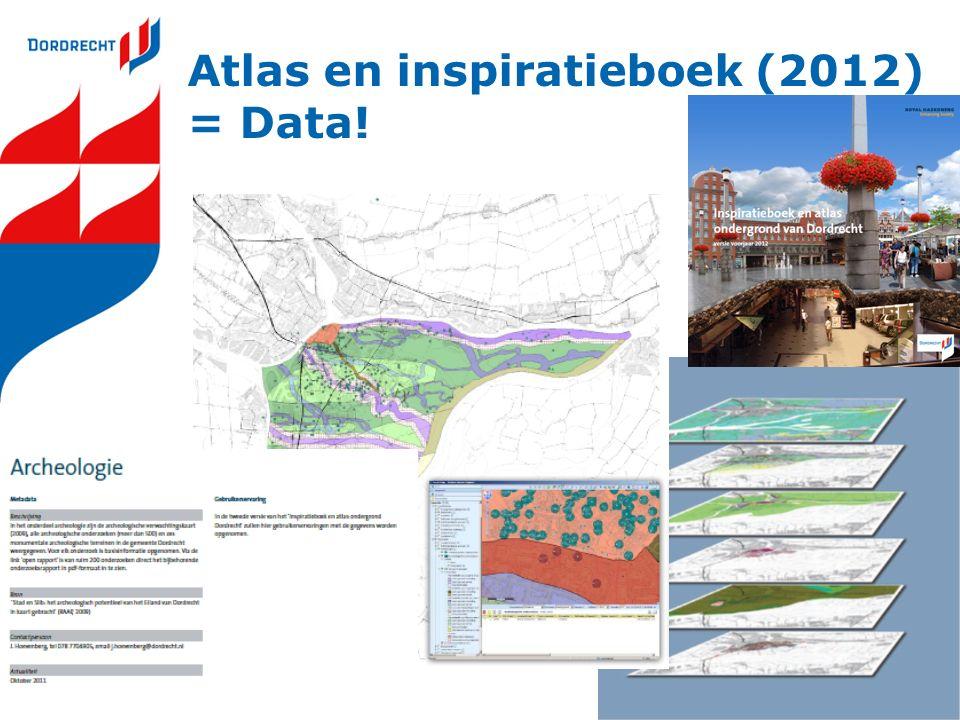 Atlas en inspiratieboek (2012) = Data!