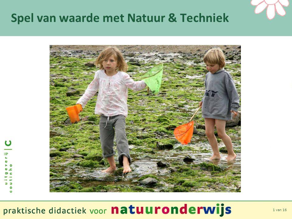 12 van 16 Spel van waarde met Natuur & Techniek Spelen met natuurproducten Mogelijkheden.