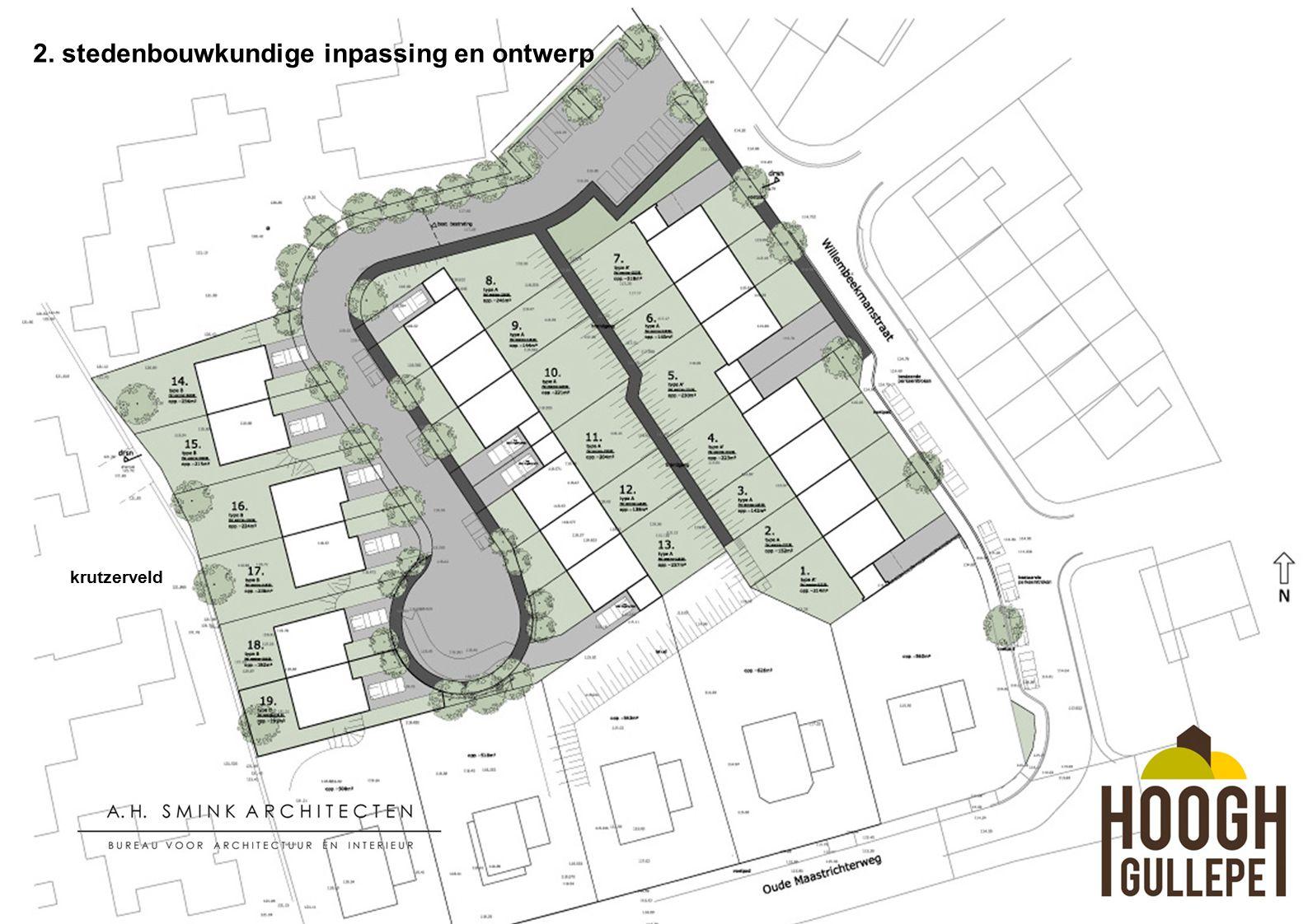 2. stedenbouwkundige inpassing en ontwerp krutzerveld