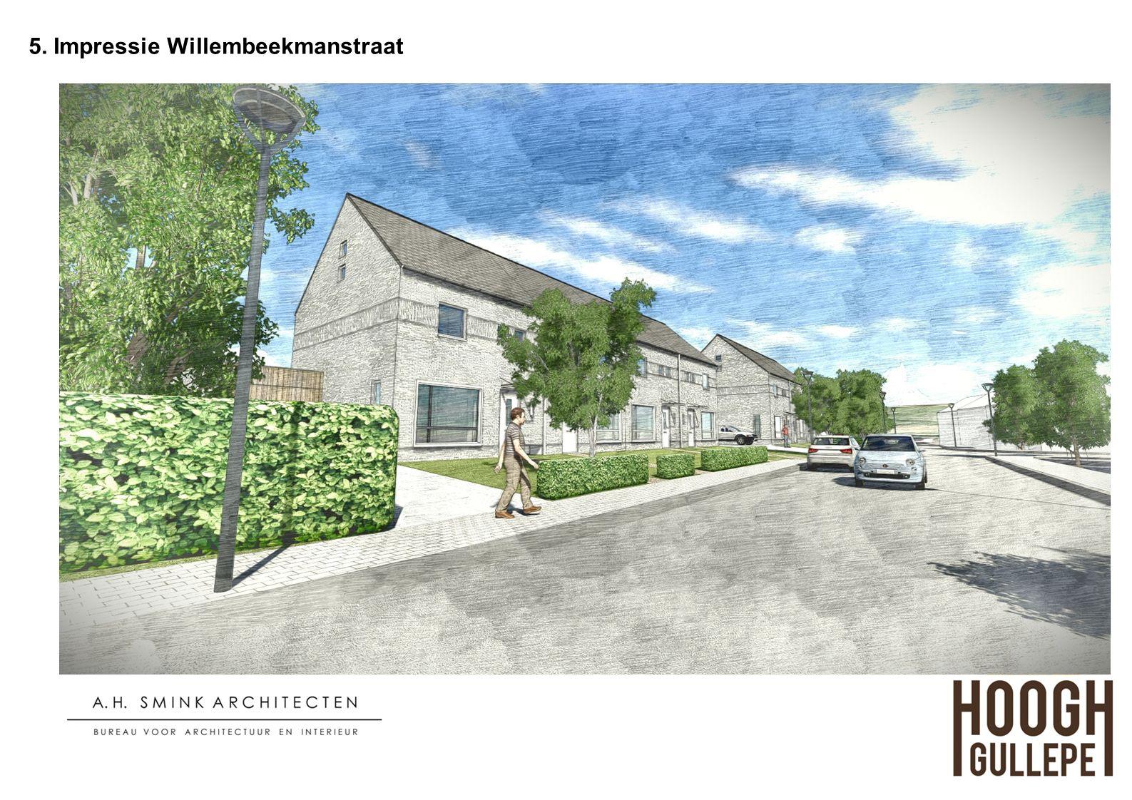 5. Impressie Willembeekmanstraat