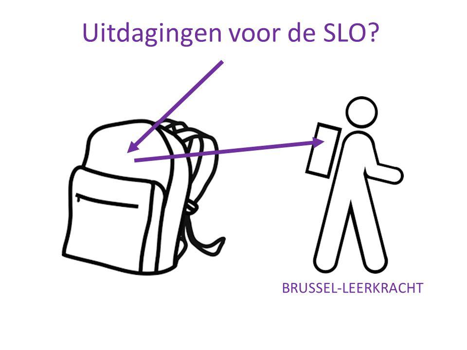 Uitdagingen voor de SLO BRUSSEL-LEERKRACHT