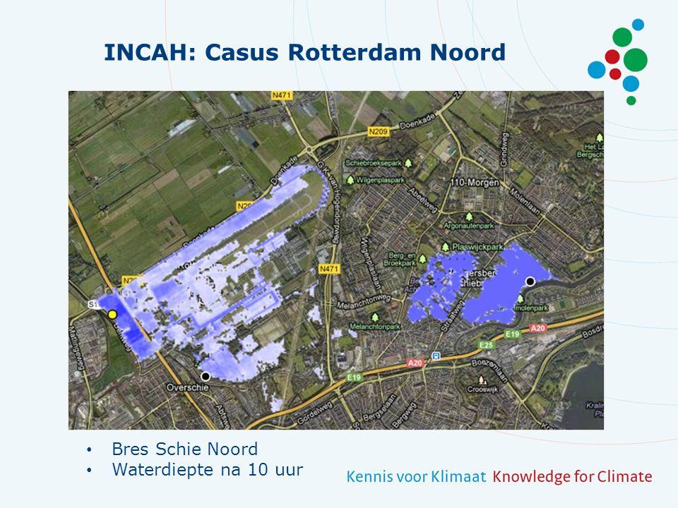 INCAH: Casus Rotterdam Noord Bres Schie Noord Waterdiepte na 10 uur