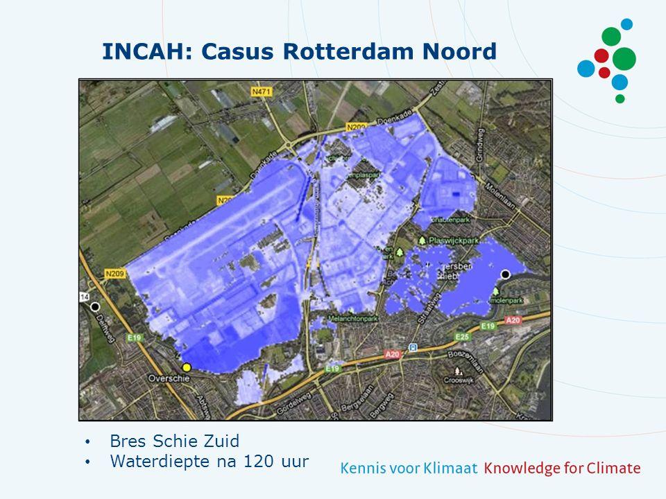INCAH: Casus Rotterdam Noord Bres Rotte Waterdiepte na 120 uur