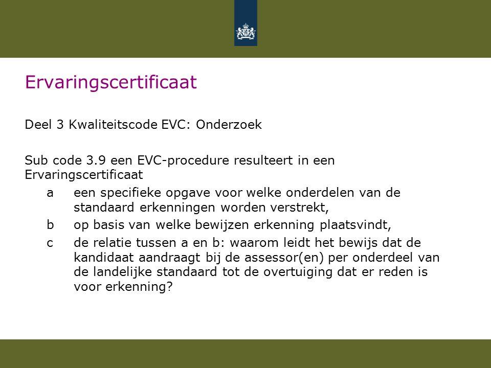 Nederlands en rekenen Matrix consequenties Nederlandse taal en rekenen voor evc- deelnemer.