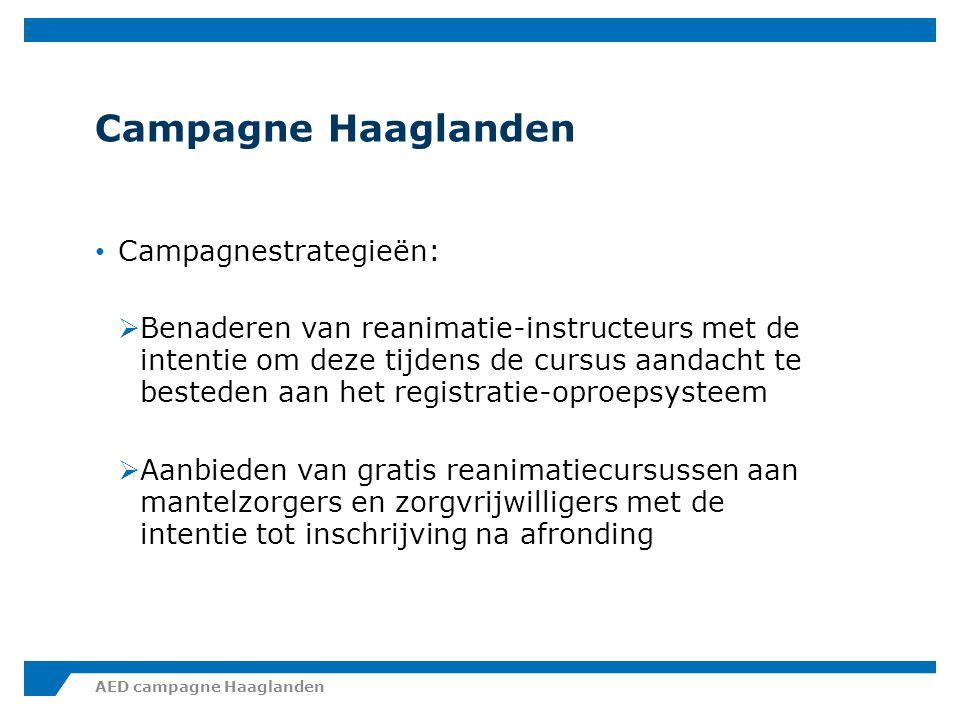 Campagne Haaglanden Verzoek is dan ook om:  Doe een reanimatiecursus.