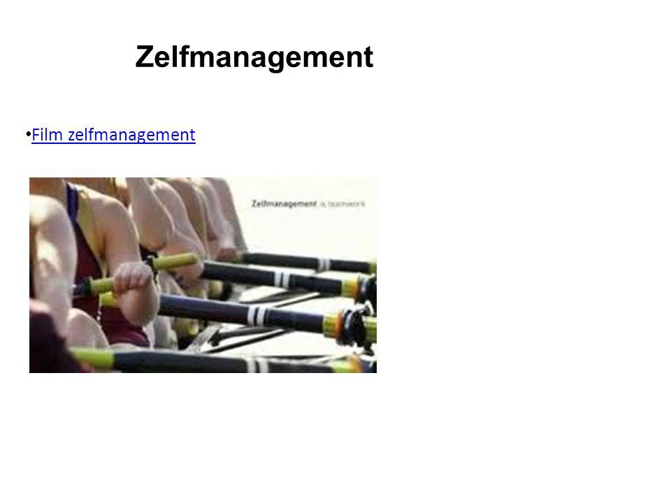 Zelfmanagement Film zelfmanagement