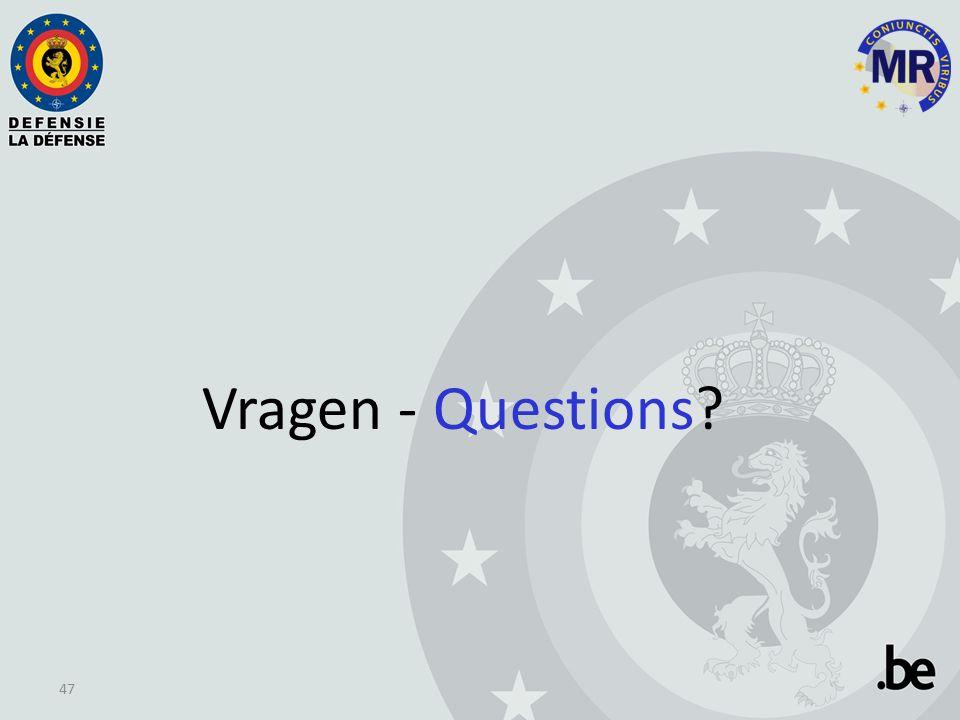 Vragen - Questions 47