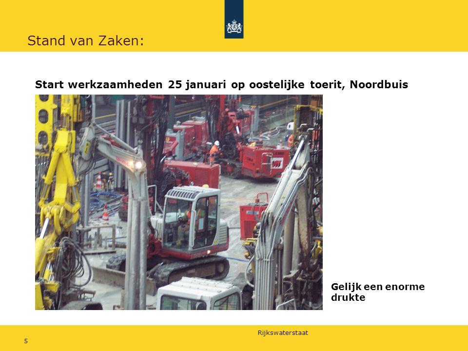 Rijkswaterstaat 6 Stand van Zaken: Werkproces Betonboren met 23 stellingen