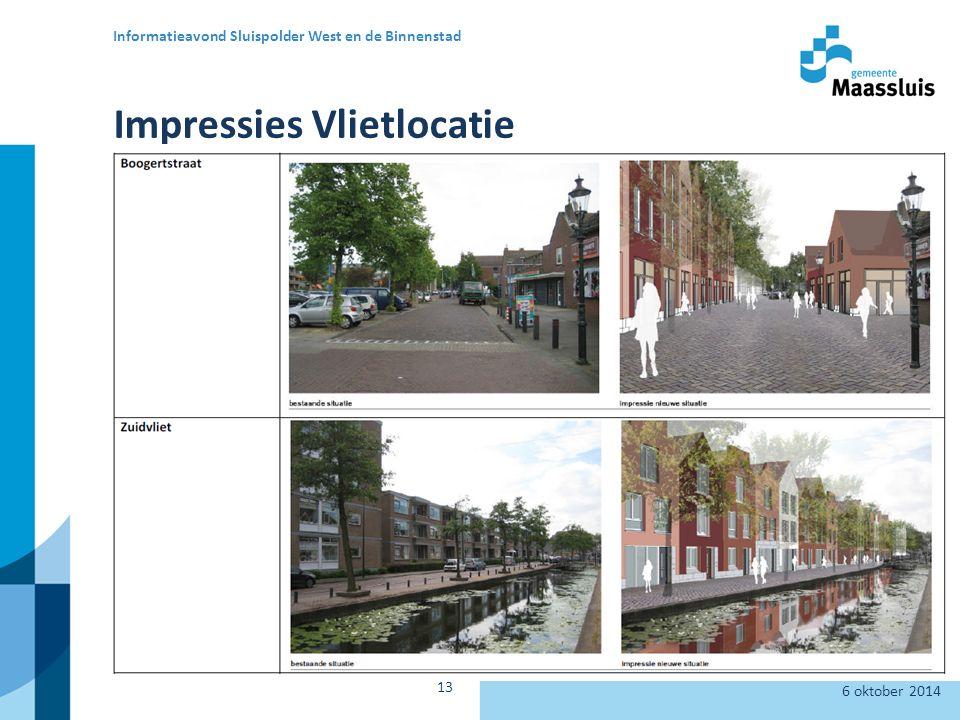 Impressies Vlietlocatie 6 oktober 2014 Informatieavond Sluispolder West en de Binnenstad 13