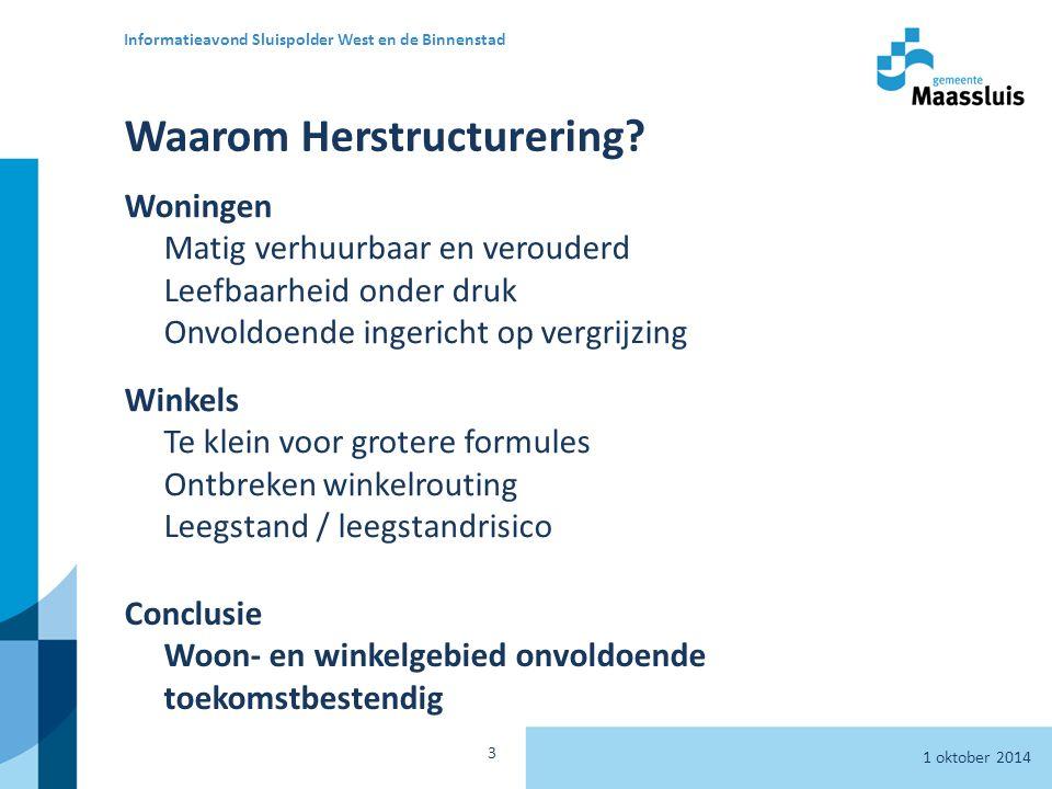Waarom Herstructurering.