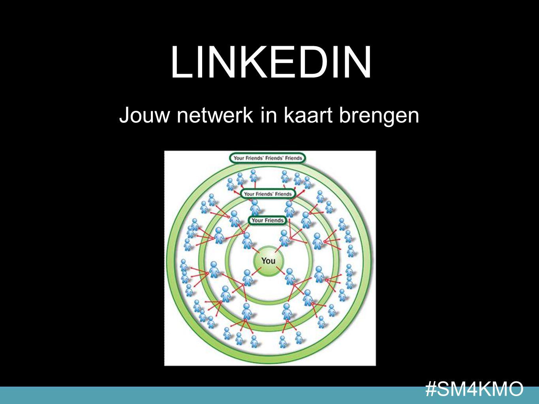 18 #04 > LinkedIn LINKEDIN Jouw netwerk in kaart brengen #SM4KMO
