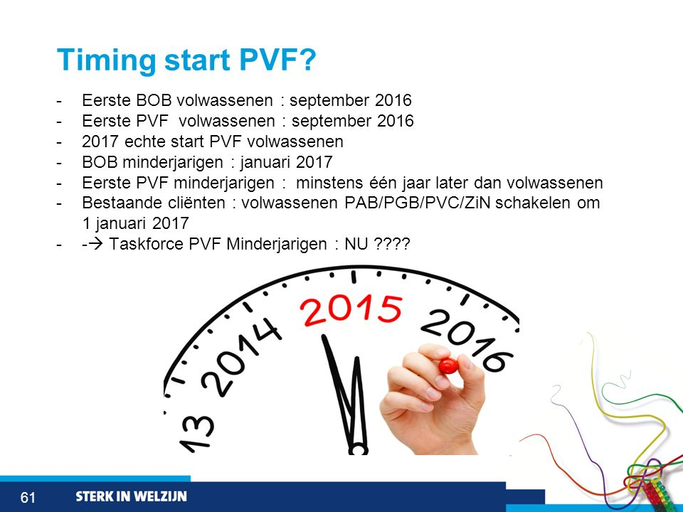 61 Timing start PVF.