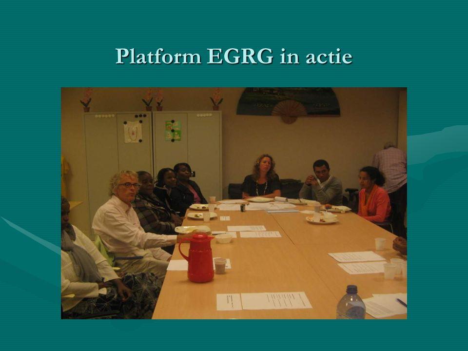 Platform EGRG in actie