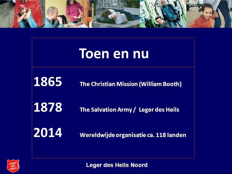 Stichting Leger des Heils Welzijns- en Gezondheidszorg Leger des Heils Noord Uitspraak grondlegger Zolang er nog vrouwen schreien, zal ik strijden.