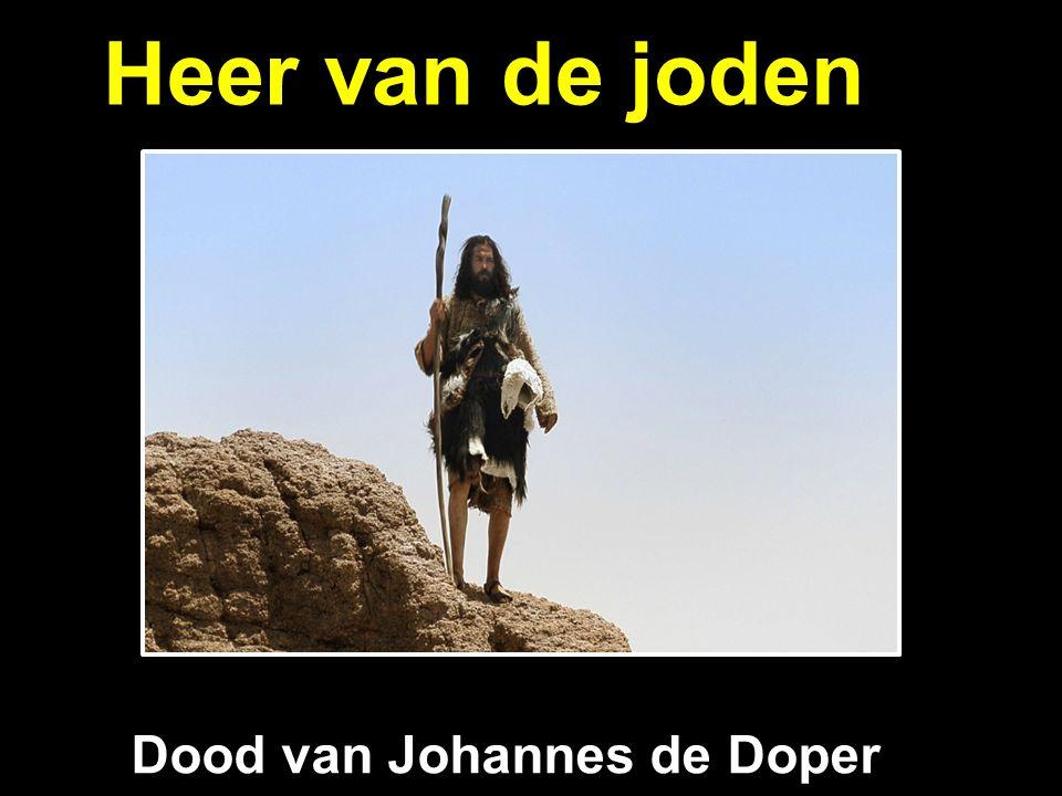 Heer van de joden Dood van Johannes de Doper