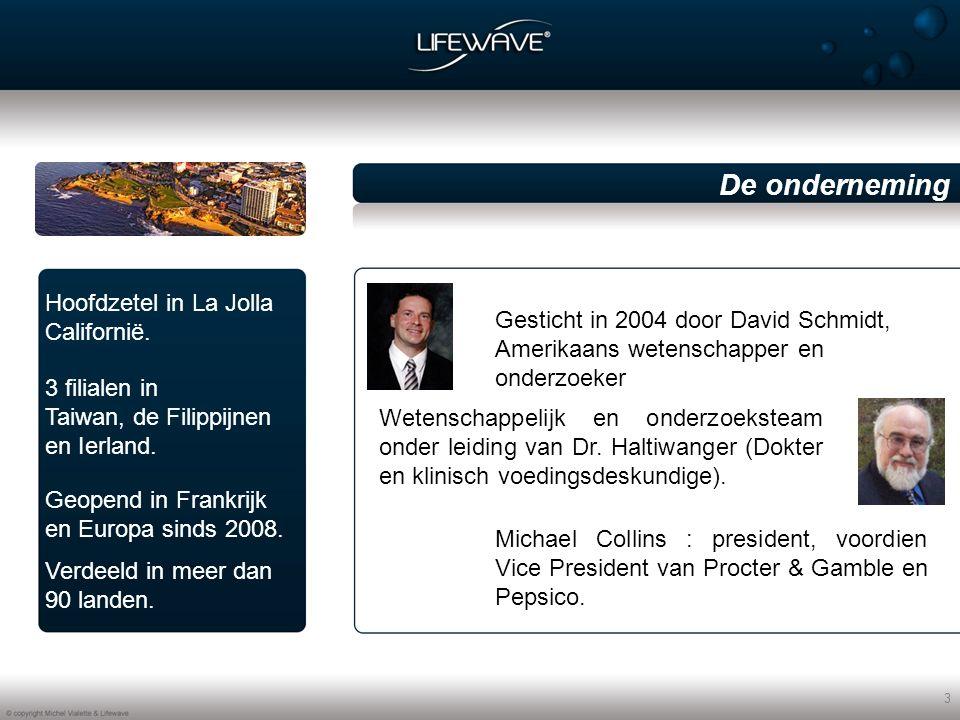 4 Lifewave ontdekken  De technologie De producten De zakelijke opportuniteit De onderneming