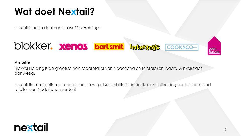 Wat doet Nextail.