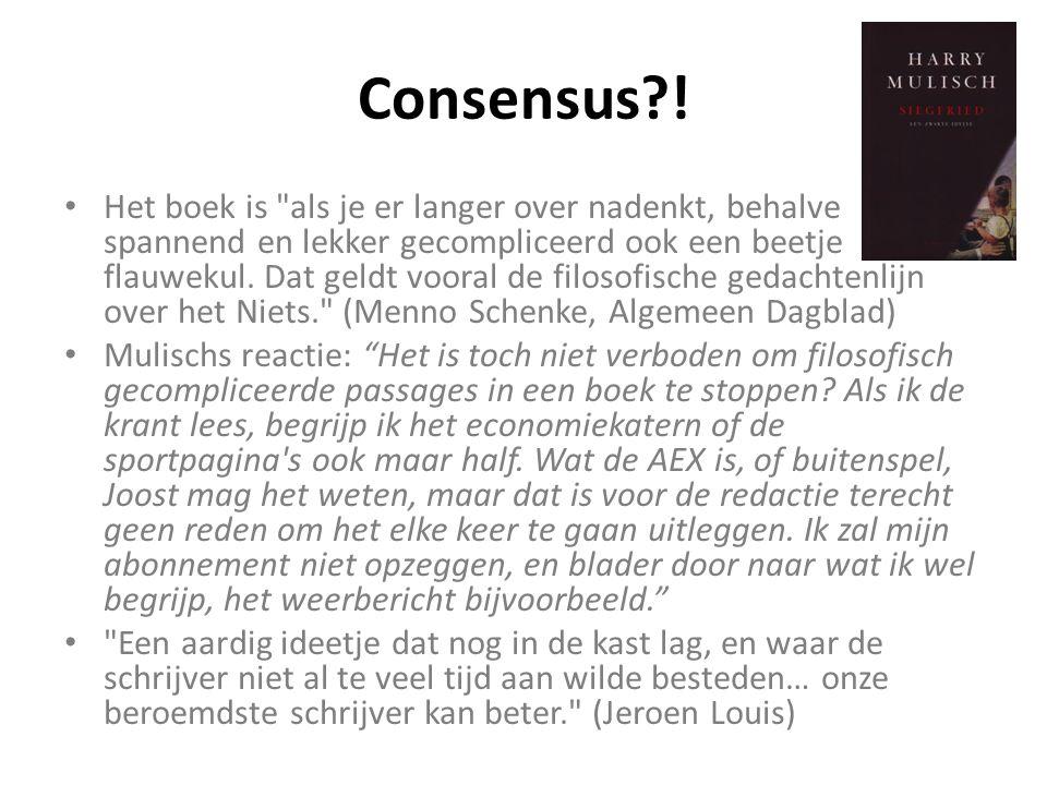 Consensus?.