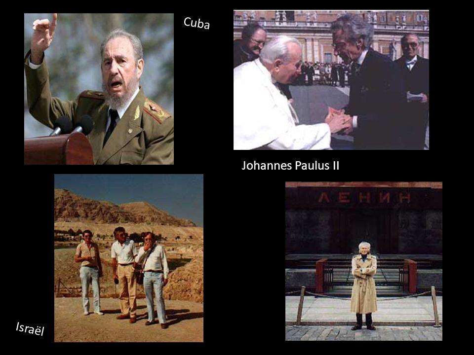 Johannes Paulus II Israël Cuba