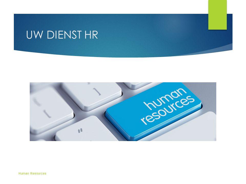 UW DIENST HR Human Resources